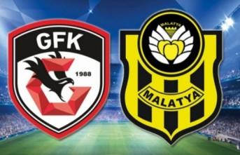 Maç Sonucu: Gaziantep - Yeni Malatya 2-2