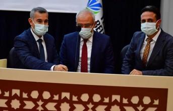 Yeşilyurt Belediyesi 1. Etap tablet dağıtım kura çekimini yaptı