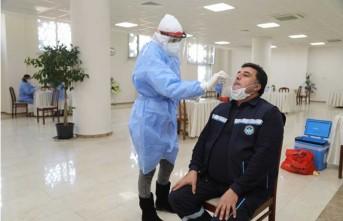 Battalgazi Belediyesi Personeline Covid-19 Testi Yapıldı