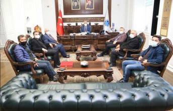 Gap Gazeteciler Birliği'nden Başkan Güder'e Ziyaret