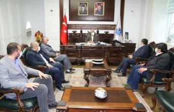 Zeynel Abidin Türbesi Kültür Vakfı'ndan Başkan Güder'e Ziyaret