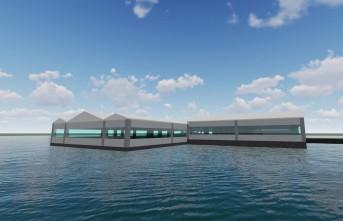 Başkan Güder'in 'Su Üstü Yüzen Restoran' Projesi Hayat Geçiyor