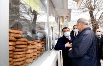 Başkan Gürkan, Esnaflarla Biraraya Geldi