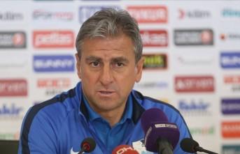 Hamza Hamzaoğlu,'Talihsiz bir mağlubiyet aldık'