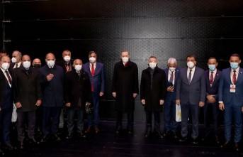 Selahattin Gürkan, Türkiye Belediyeler Birliği'ne Başkanlık Etti