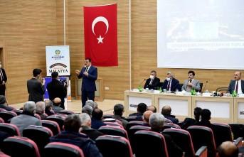 Başkan Gürkan, İlçe Koordinasyon Toplantılarına Devam Ediyor