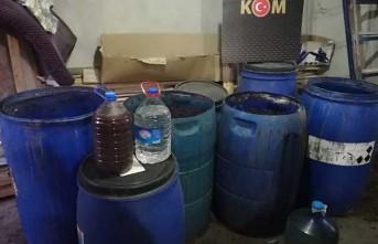 Malatya'da Boğma Rakı ve Ham Maddesi Ele Geçirildi