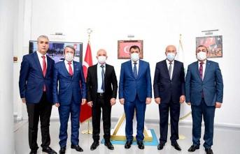 MHP Yeşilyurt İlçe Teşkilatından Başkan Gürkan'a Övgü