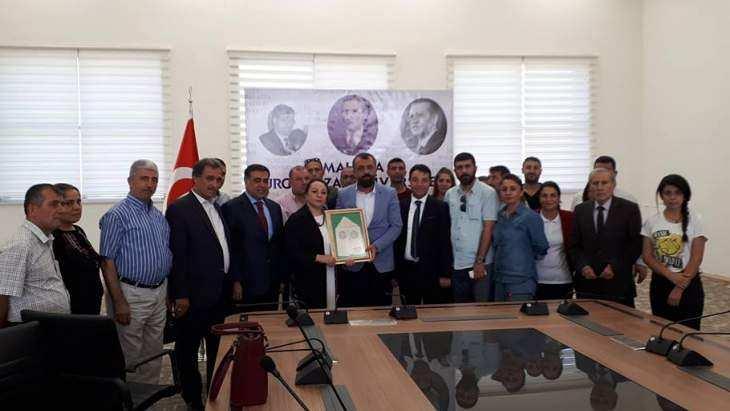 Başkan Akın'dan Rektör Karabulut'a Ziyaret
