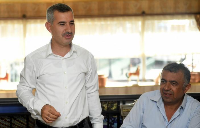 Başkan Çınar, Akpınar Esnafıyla Sohbet Etti!