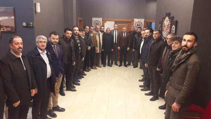 Başkan Sadıkoğlu'ndan MİMDER'e Ziyaret