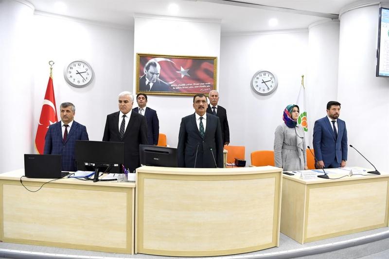 Büyükşehir Belediyesi Mayıs Ayı İlk Toplantısı Yapıldı