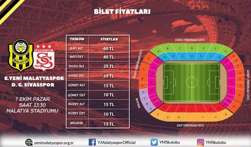 EYMS-DG Sivasspor Maç Biletleri Satışta
