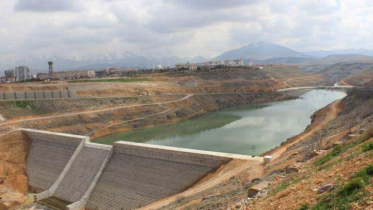 Malatya Yeşilvadi (Beylerderesi) Barajında Su Tutuldu