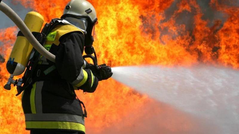 Malatya'da Yangın... Maddi Hasar Oluştu