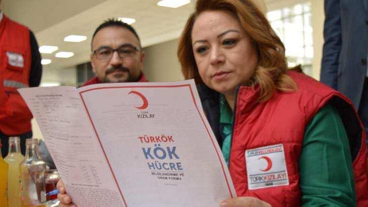 MTÜ'den Türk Kızılay'ına kan bağışı