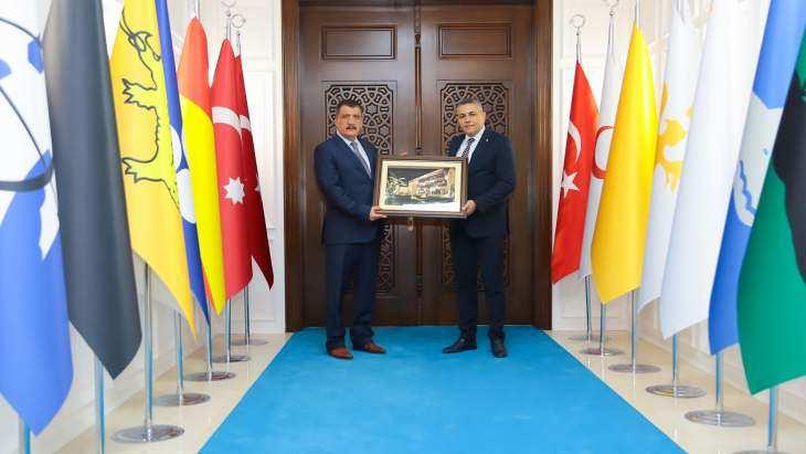 Sadıkoğlu'dan Başkan Gürkan'a Ziyaret