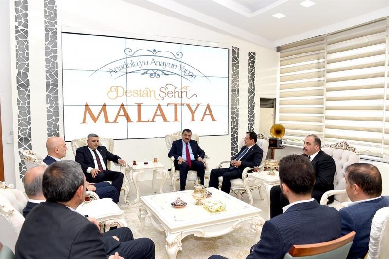 Sadıkoğlu'dan Gürkan'a Ziyaret