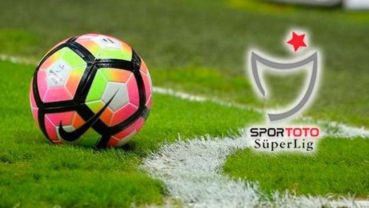 Süper Lig'in 5 Haftalık Program Açıklandı