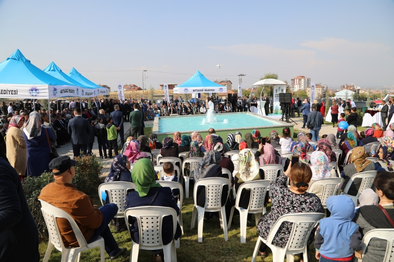 TOKİ Parkı Törenle Hizmete Açıldı