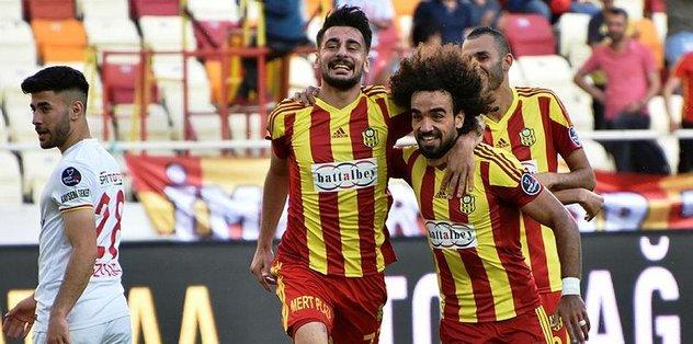 Yeni Malatyaspor: 3 - Kayserispor: 2