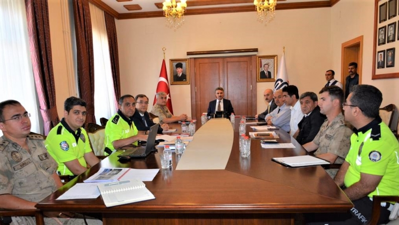 Trafik Değerlendirme Toplantısı Düzenlendi