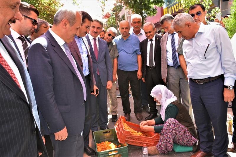 Ulaştırma ve Altyapı Bakanı Malatya'da İncelemelerde Bulundu