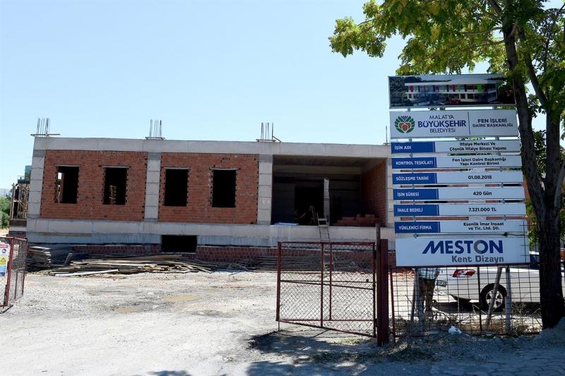 Yeni İtfaiye Merkezi inşaatı devam ediyor