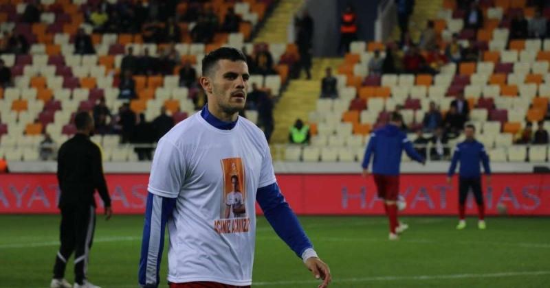 Y.Malatyaspor'lu Futbolcular Josef Sural Unutmadı