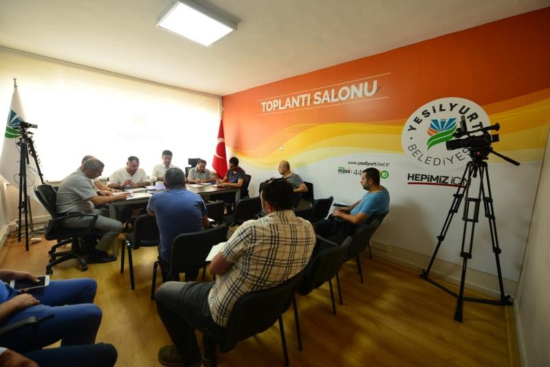 Yeşilyurt Belediyesi İhaleleri Canlı Yayınlıyor