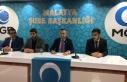 Anadolu Gençlik Derneği Malatya Şubesinden Çin...
