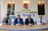Malatya Ticaret Borsası Başkanı Ramazan Özcan MGC'ni ziyaret etti