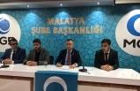 Anadolu Gençlik Derneği Malatya Şubesinden Çin Zulmünü Tepki