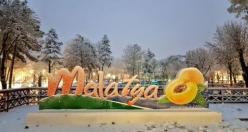 Malatya'dan Kar Görüntüleri