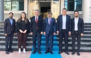 Çakır'dan Dağdeviren'e Ziyaret
