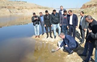 'Hedef; Barajımızın Verimliliğini Ve Su Ürünlerindeki...