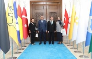 PTT'den Başkan Güder'e Ziyaret