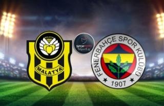 Yeni Malatyaspor-Fenerbahçe maçı saat kaçta hangi...