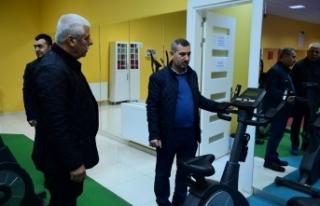 Başkan Çınar, Yakınca Yaşam ve Spor Merkezini...