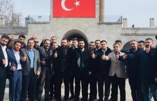 Malatya'da  Osmanoğlu'na yoğun ilgi