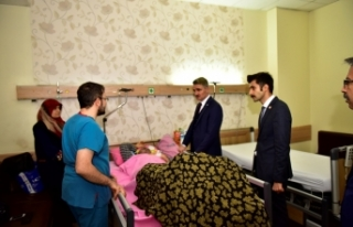 Vali Baruş'tan İl Göç Personeline Ziyaret