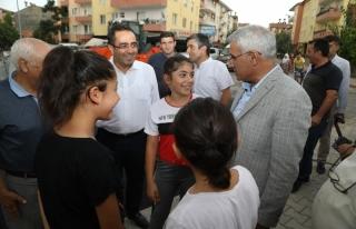 Başkan Güder, İskender Mahallesi'nde Yapılan...