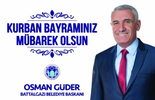 Başkan Güder'in Kurban Bayramı Mesajı
