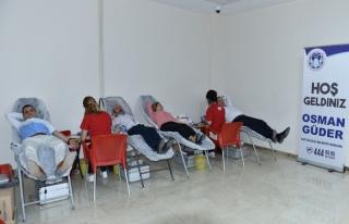 Battalgazi Belediyesi Çalışanlarından Kan Bağışı