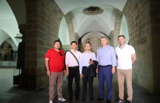 Tayvan Ankara Büyükelçisi Cheng, Battalgazi'ye...