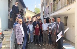 Tüfenkci, Beydağı'nda vatandaşlarla bir araya...