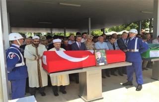 Vali Baruş Astsubay Çavuş Taşpınar'ın Cenaze...