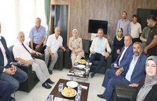 Vekillerden  Karadağ'a Ziyaret