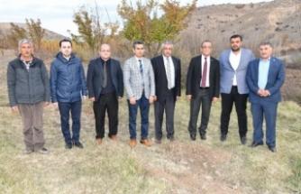 Karataş, Doğanşehir'de atıksu arıtma tesisi için incelemelerde bulundu