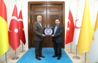 Bayındır'dan Başkan Güder'e Ziyaret